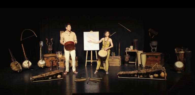 Voyage musical en afrique cie debout là dedans